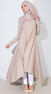 Decent Skin Color Abaya