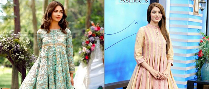 Pakistani Party Wear Frocks 2018