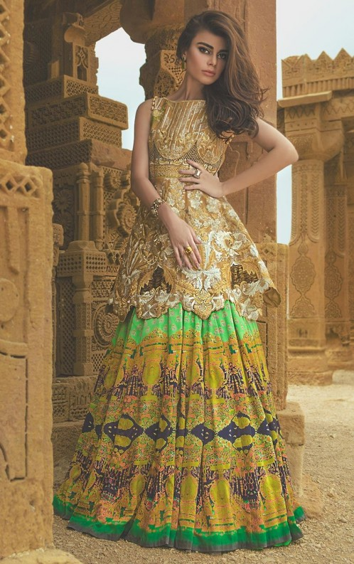 New Pakistani Party Wear Dresses Frock Collection 2018 Styleglowcom