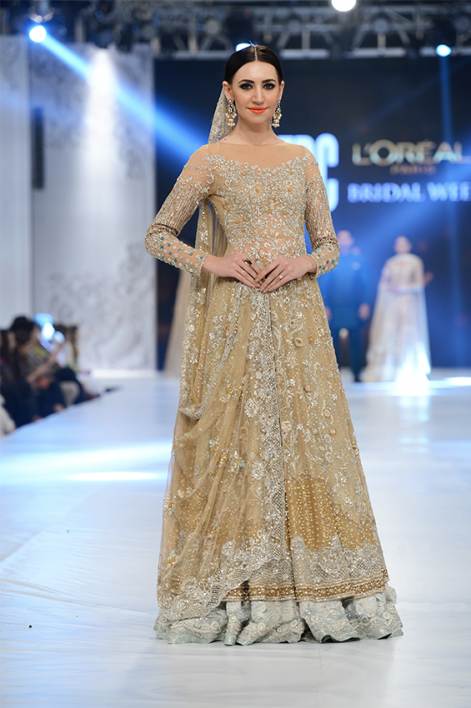 Latest Pakistani Bridal Dresses 2018 For Barat Day
