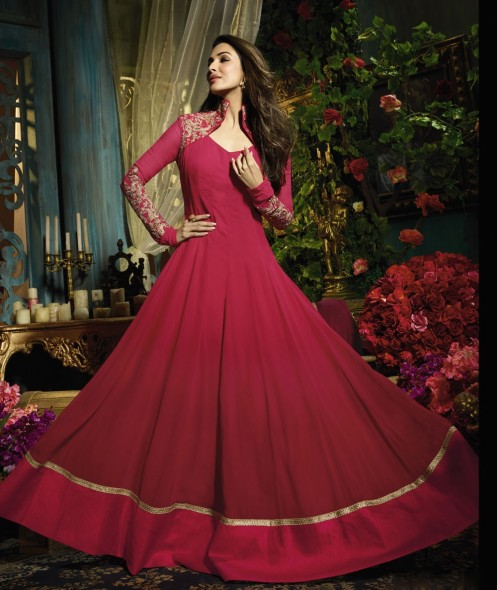 faa415e0a5a Latest Pakistani Party Wear Frocks for Girls | Designer Party ...