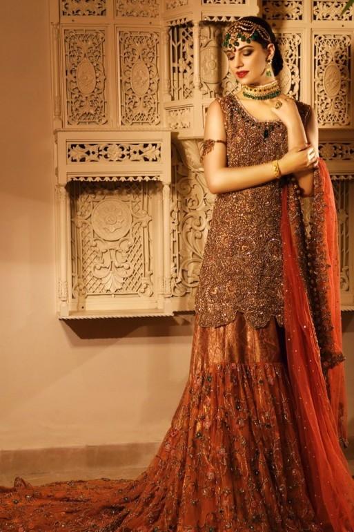 Latest Pakistani Bridal Dresses 2018 For Barat Day ...
