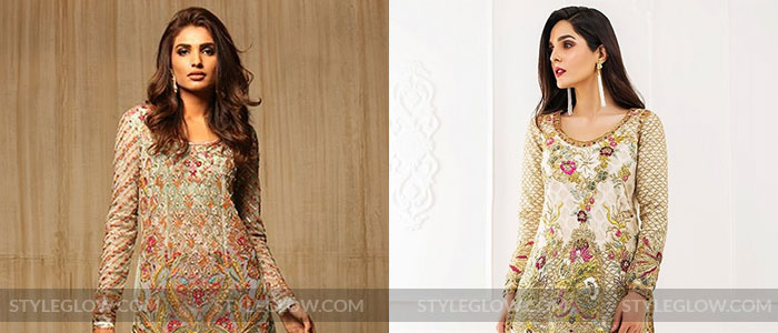 09550a501dd Latest Pakistani Party Wear Dresses 2019 For Girls - StyleGlow.com