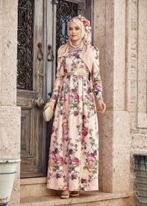 Preety Abaya With Light Pink Color