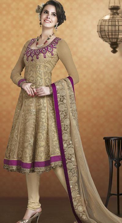 Latest Pakistani Party Wear Frocks For Girls Designer