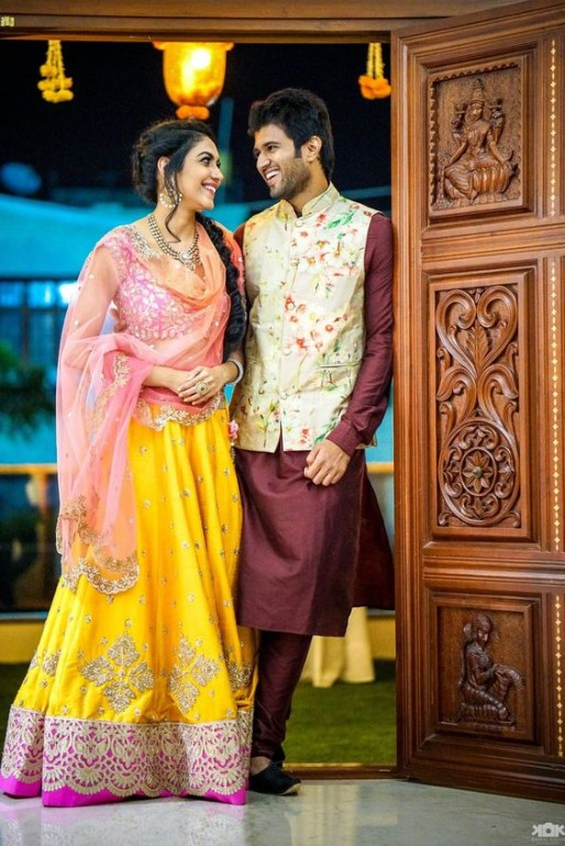 Latest Mehndi Dresses For Men 2018 Best Collection