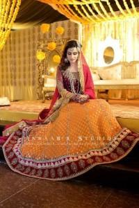 ghagra chloli style