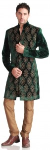 sherwani with pajama on barat