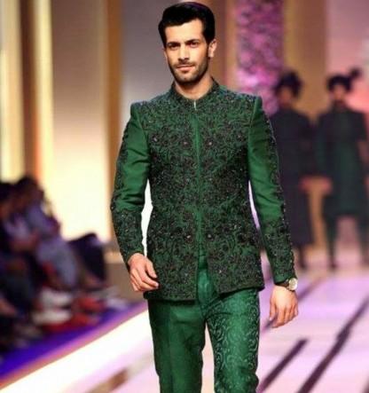 Latest Mehndi Dresses for Men 2018 Best Collection ...