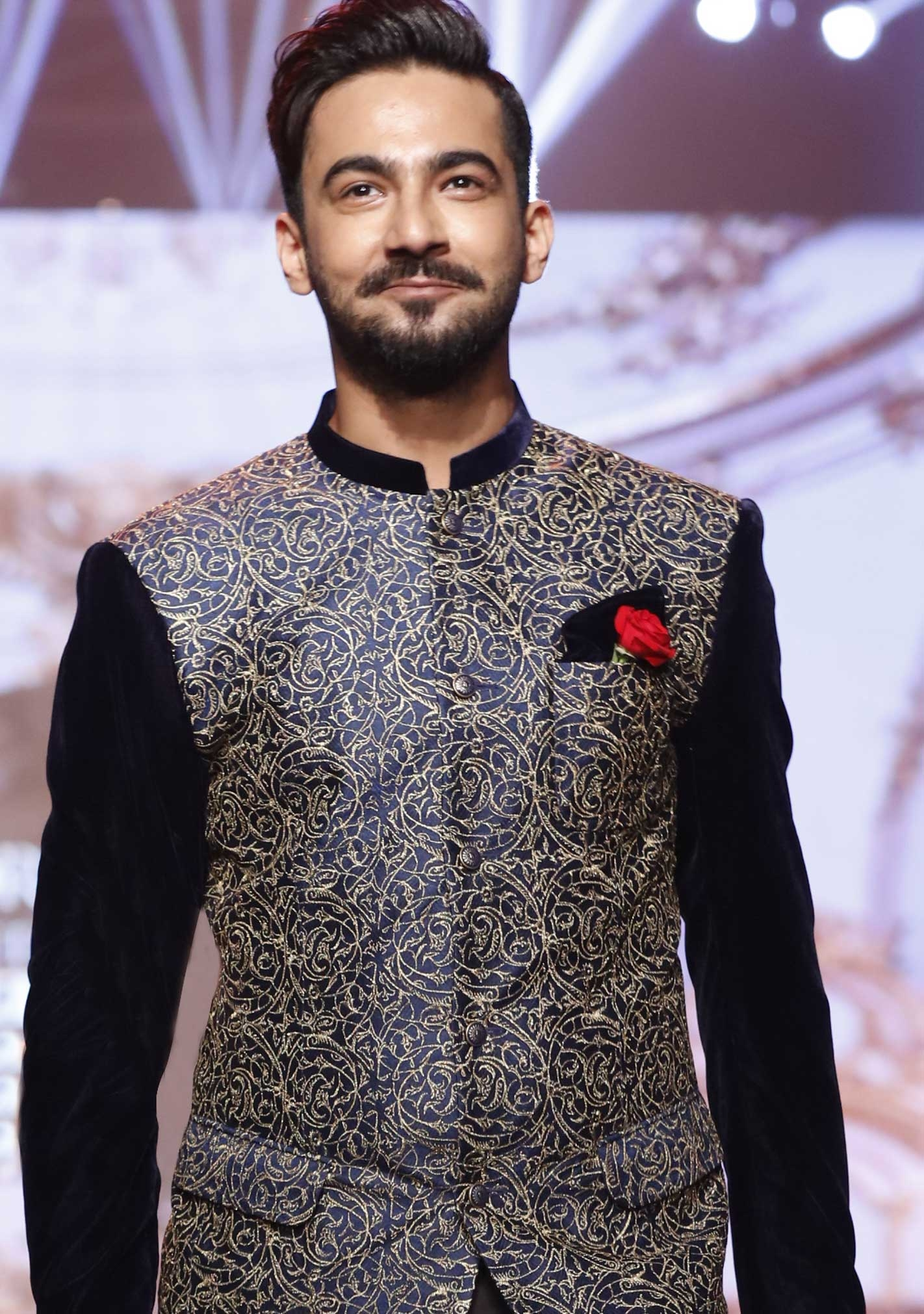 fancy wasket with shalwar & kamiz walima dress collection