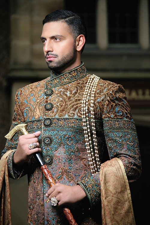 pakistani men sherwani for barat