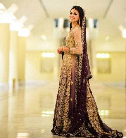 5a06425e82 We have displayed our rare and finest collection for bridal wedding dresses  for walima. In 2018, the most popular trend for waleema is lehenga and  maxis.