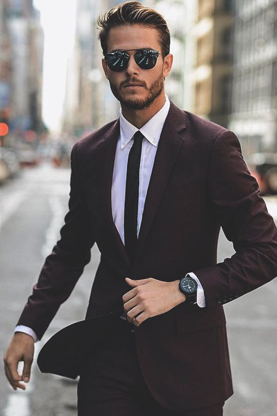 Best 25 Men S Suits Ideas On Pinterest Mens Suit Styles Wedding Style And