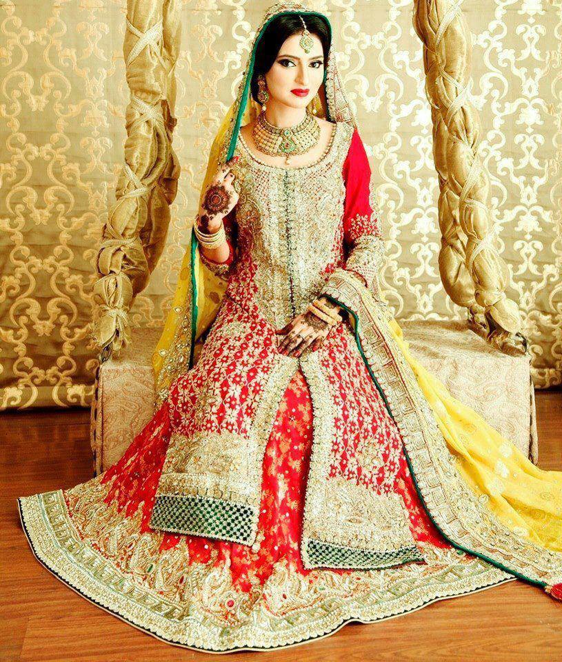 Latest Pakistani Bridal Wedding Dresses 2019 Collection