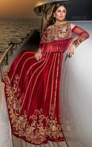 red-velvet-cape-with-red-velvet-lehnga