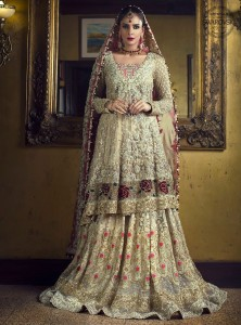 saba qamer bridal dress