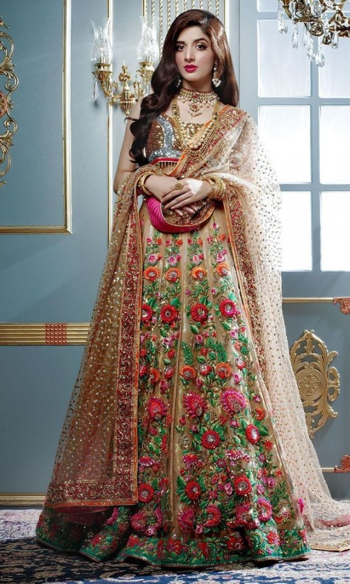 Latest Pakistani Bridal Wedding Dresses 2018 Collection ...