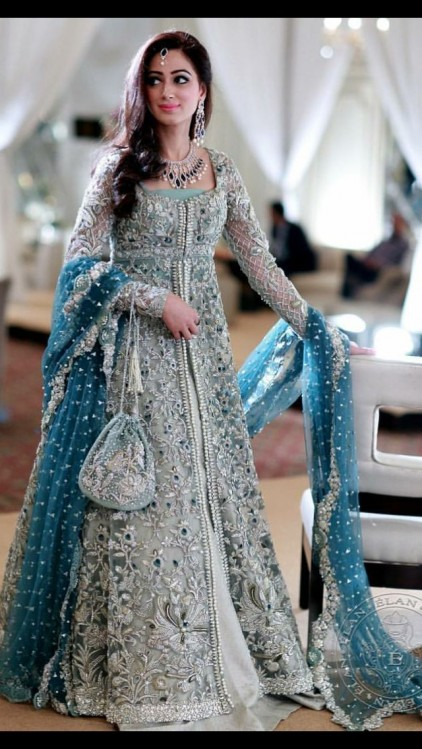 f717c68bc Latest Pakistani Bridal Wedding Dresses 2019 Collection - StyleGlow.com