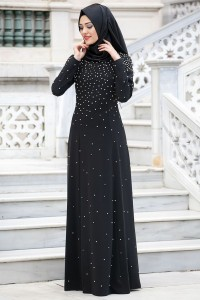 Black Abaya Design