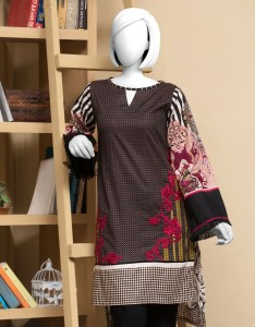 Black Check Design Shirt