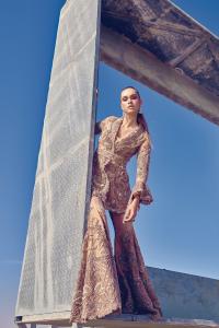 Champagne Intricacy Dress