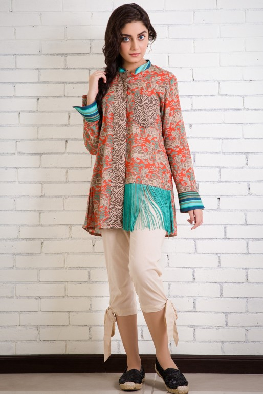 0ecb8c5977 Latest Summer Kurti Designs 2019 Collection for Women in Pakistan ...