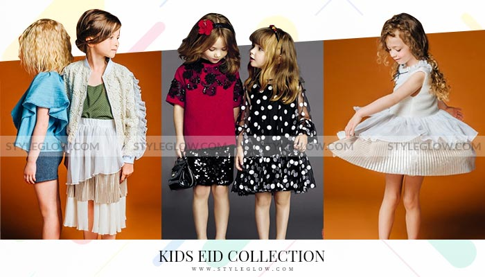 Latest Eid Dress Designs for Kids 2020 Collections in Pakistan