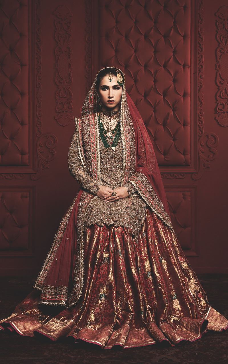 8c0fb3e14 Latest Bridal Lehenga Designs 2019 in Pakistan - StyleGlow.com
