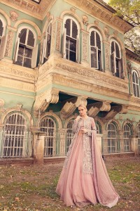 Pink Western Style Gown