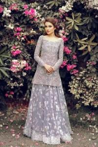 Purple Wedding Gown Design