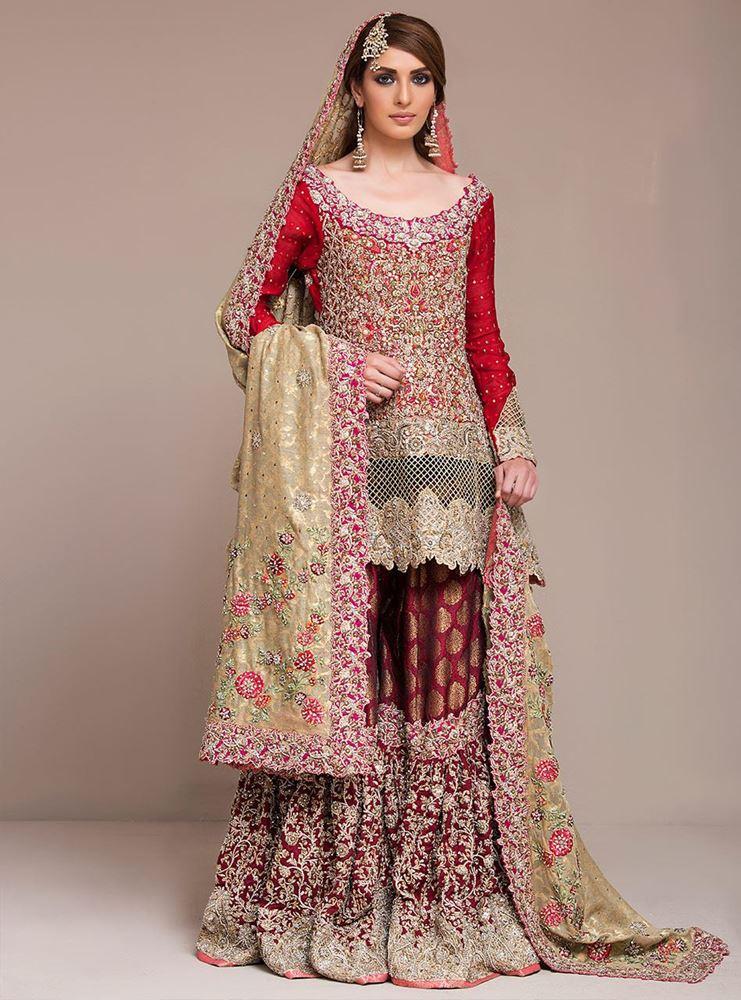 b3921a6f5b Latest Bridal Lehenga Designs 2019 in Pakistan - StyleGlow.com