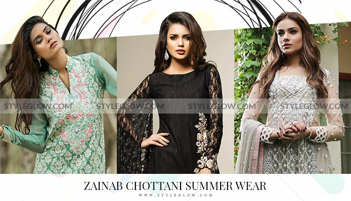 Zainab Chottani Summer Collection