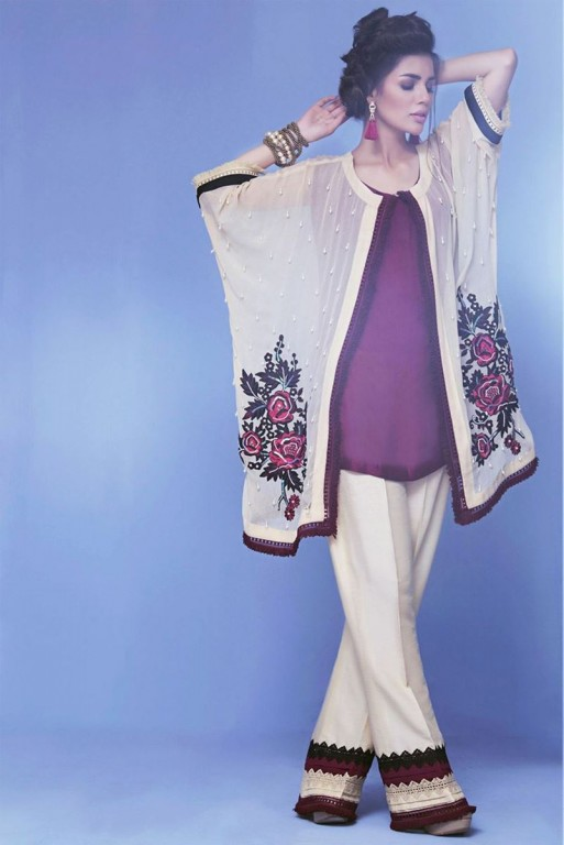 fc1954d361 Latest Pakistani Party Wear Dresses 2019 For Girls - StyleGlow.com