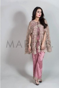 jacket in pink maria b