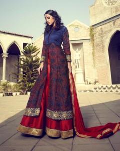 Anarkali Bridal Engagement Dress