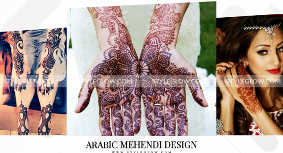 Latest Arabic Mehndi Designs Collection 2018 For Women