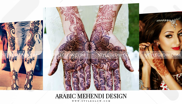 Latest Arabic Mehndi Designs Collection 2019 For Women