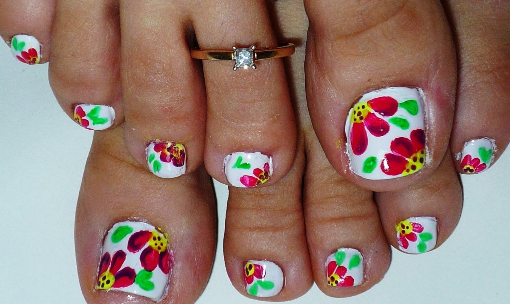 Pedicure Nail Art Ideas 2018 To Try This Summer Simple Styleglow