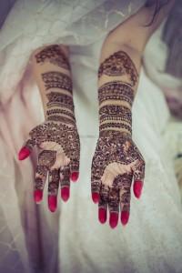 Bridal Full Hand Henna Design