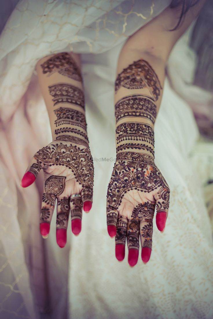 Most Popular Indian Mehndi Designs 2018 For Girls Latest Images