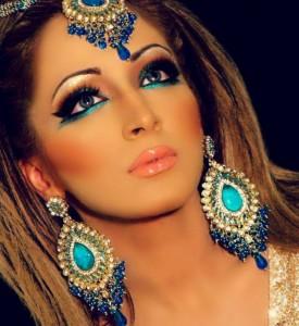 Bridal Makeup for Mehendi