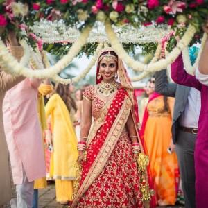 Bride Wedding Entrance Idea