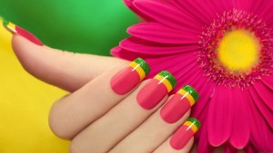Bright Color Nail Paint