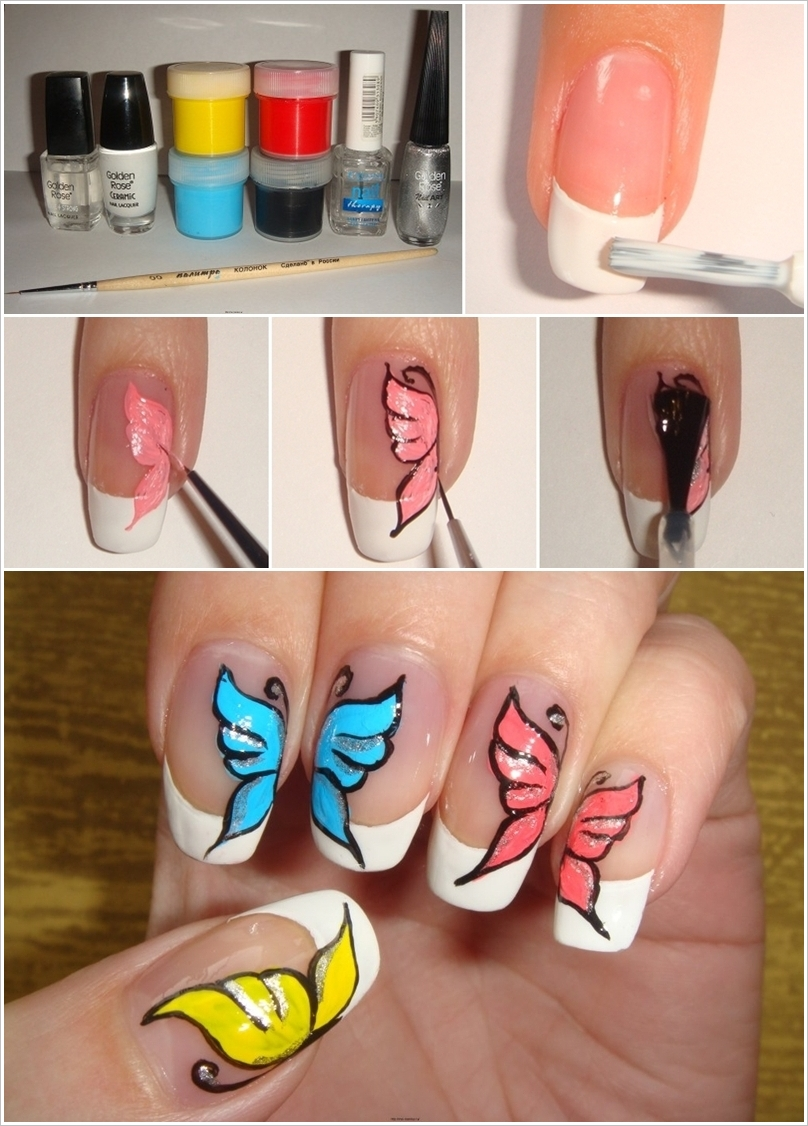 How to apply nail polish in an easy way - StyleGlow.com