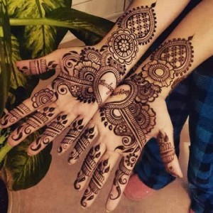 European Mehendi Design