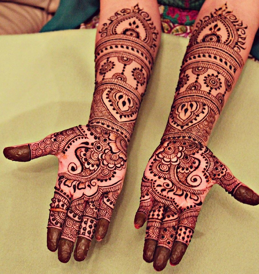 Latest EID Arabic Mehndi Designs 2019 for Women - StyleGlow com