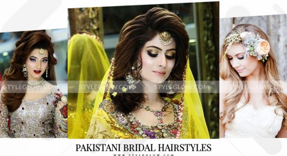 Pakistani Bridal Hairstyles for Wedding 2018