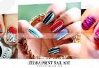 Zebra-Print-Nail-Art