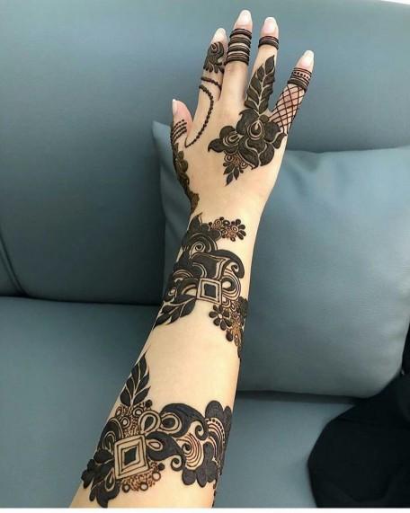 Latest Arabic Mehndi Designs Collection 2019 For Women