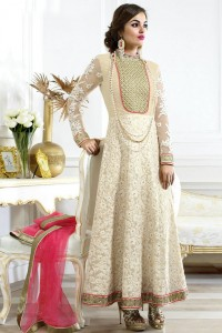 Frock Style White Color Dress